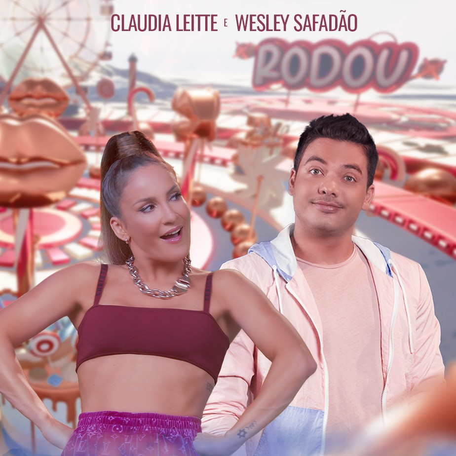 Claudia Leitte anuncia single com Wesley Safadão